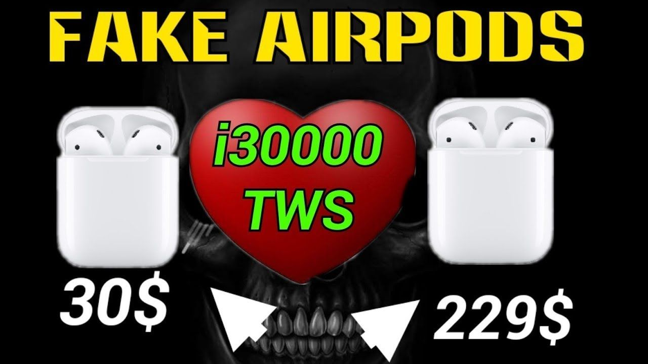 Fake airpods review i50000 vs i50000 pro tws youtube