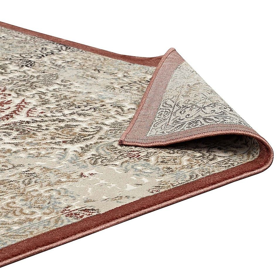 Modway Hester Ornate Turkish 8' X 10' Area Rug In Tan/walnut Brown - Put the finishing touches on your home furnishings with the Modway Hester Ornate Turkish Rug. Elegantly designed with a damask motif and neutral color palette, it has the stylish presence you've been looking for to complement your home decor.
