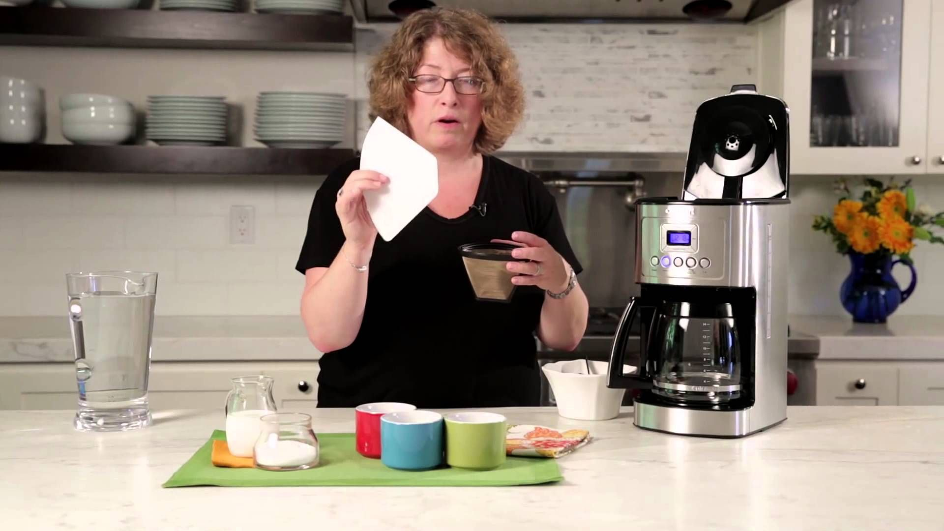 how to use cuisinart coffee maker youtube