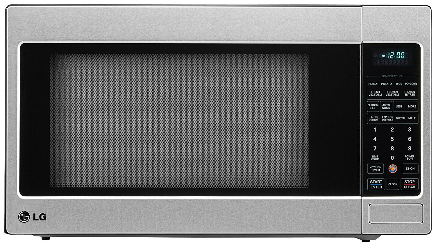Lg Lcrt2010st 2 0 Cu Ft Counter Top Microwave Oven With True Cook