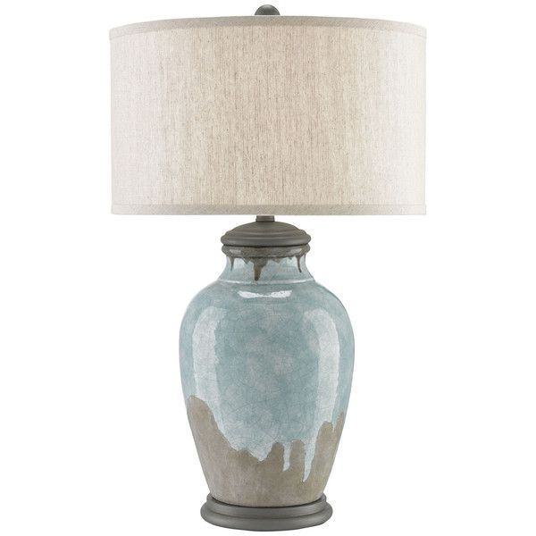 Currey And Company Chatswood Table Lamp Grey Table Lamps Table Lamp Blue Table Lamp