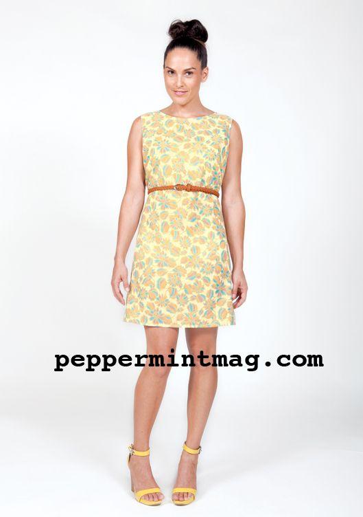 Free 1960\'s Shift Dress Sewing Pattern | Free patterns | Pinterest ...