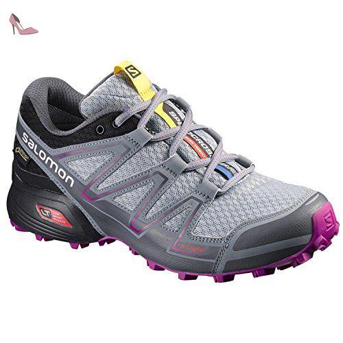 Multicolore (Pale Grey/Black/Cargo Khaki/Cool Grey)  Chaussures de Running Homme Salomon Speedcross Pro Women's Chaussure Course Trial - AW16-40.7 CuUx7dK6a