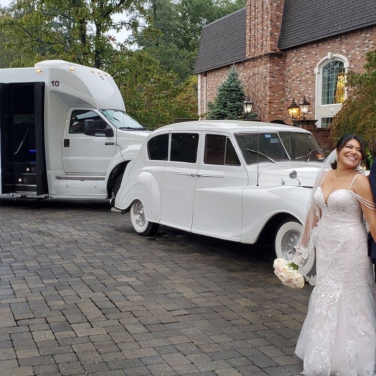 partybus rental nj Wedding transportation