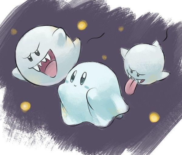 Gourgeist Undercover Ghost Kirby Pinterest Nintendo