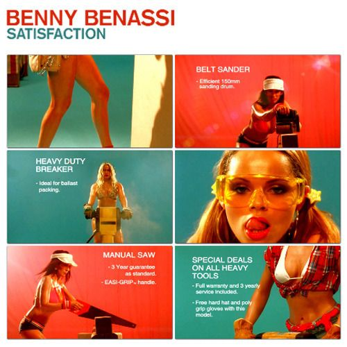 Benny Benassi – Satisfaction (single cover art)