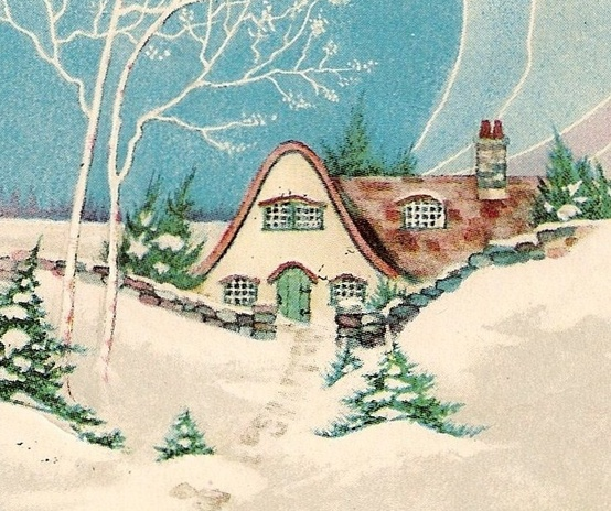 A Charming Winter Cottage....