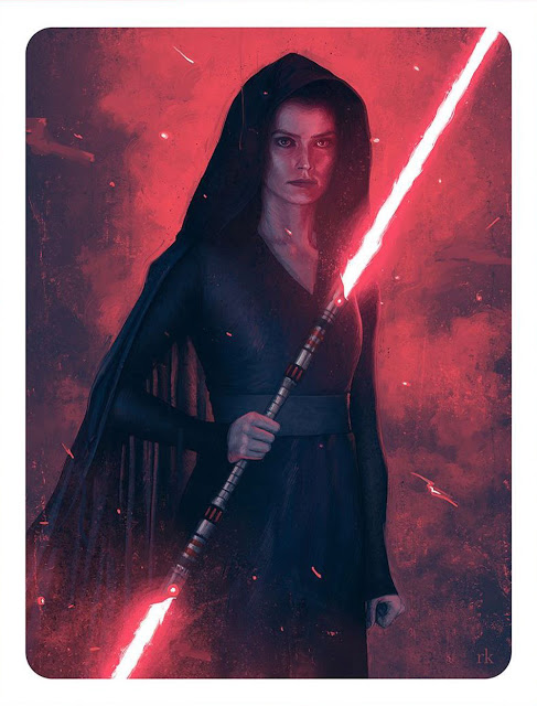 Dark Rey Artcard By Rory Kurtz From The January 2020 Edition Of Empire Magazine Rey Star Wars Star Wars Images Star Wars Sith