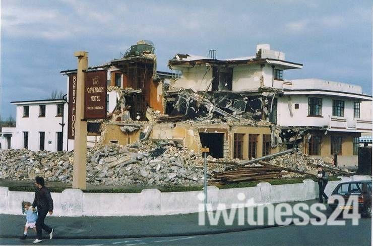 Demoltion Of The Cavendish Hotel