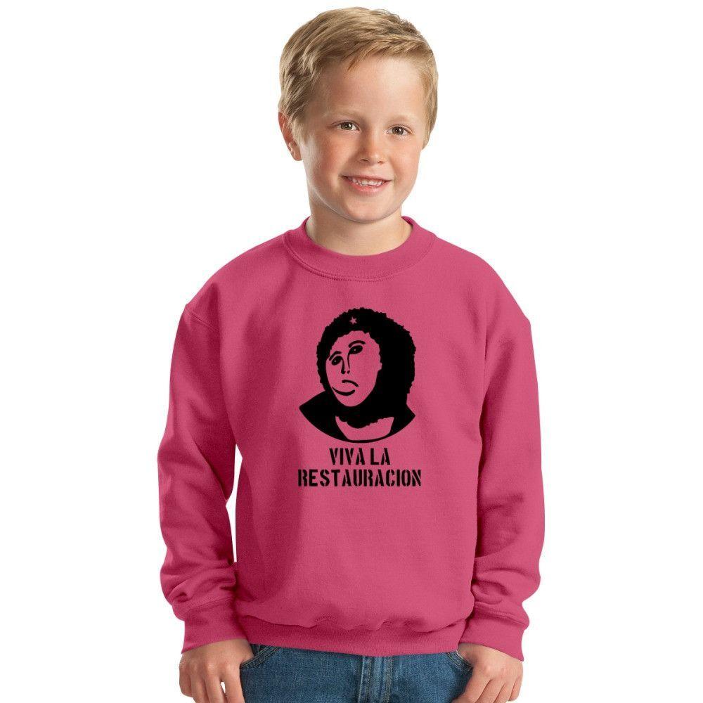 Viva La Restauracion Kids Sweatshirt