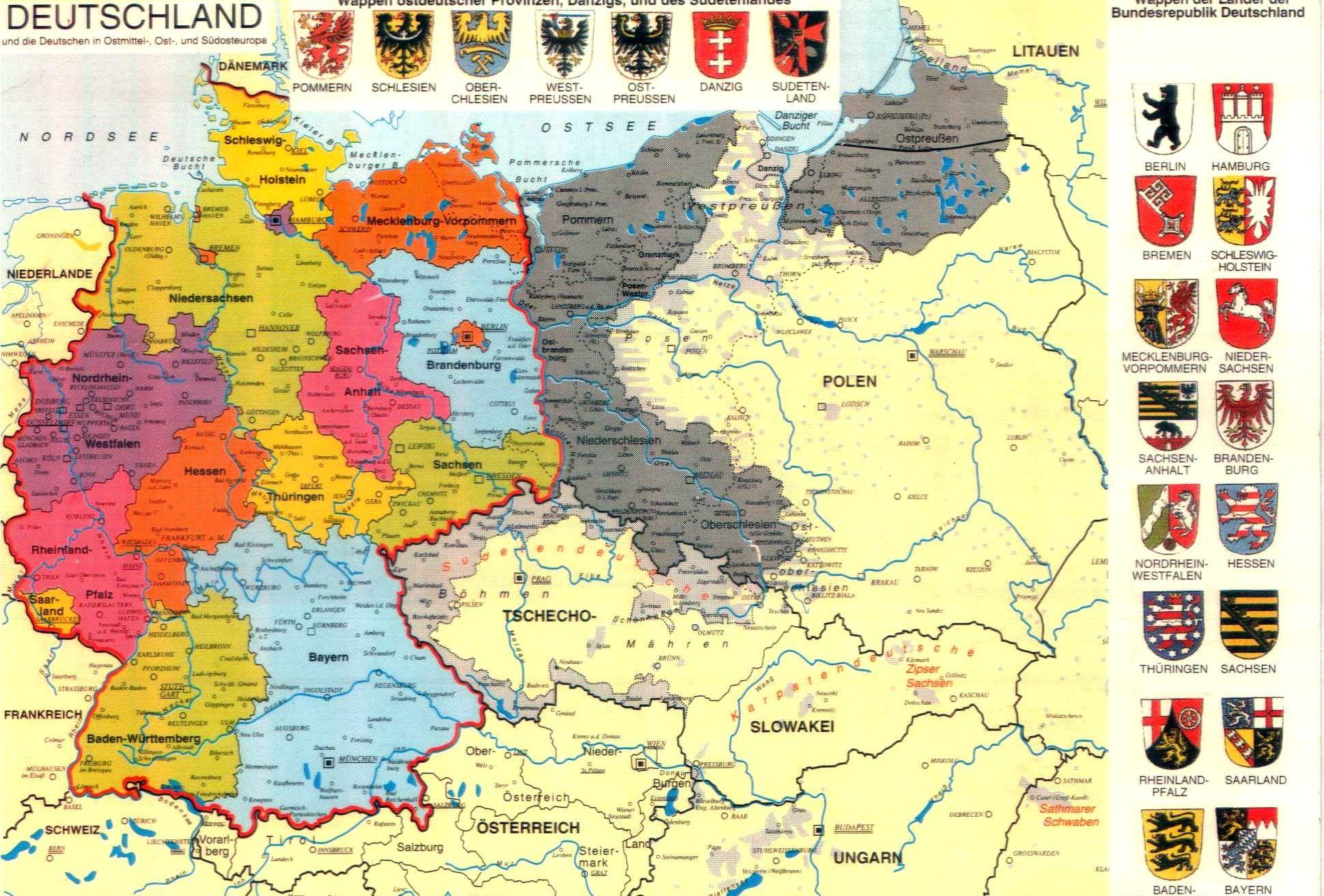 deutschland karte alt SOEINE Deutschland Karte habe ich AUCH bei mir ZUHAUSE. | Germany