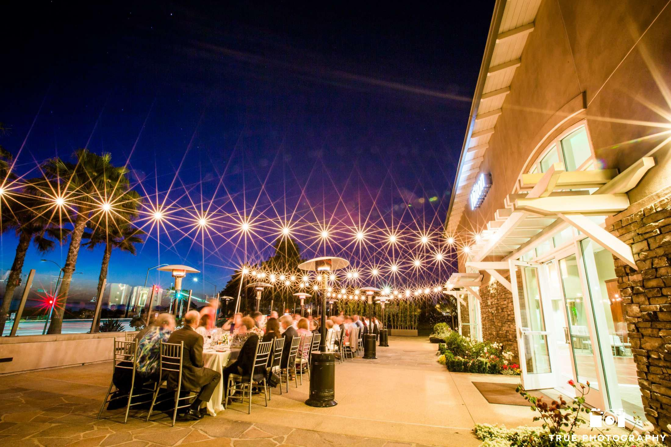 Night Shot Of Cape Rey Carlsbad A Hilton Resort Wedding Reception Weddingphotography See More
