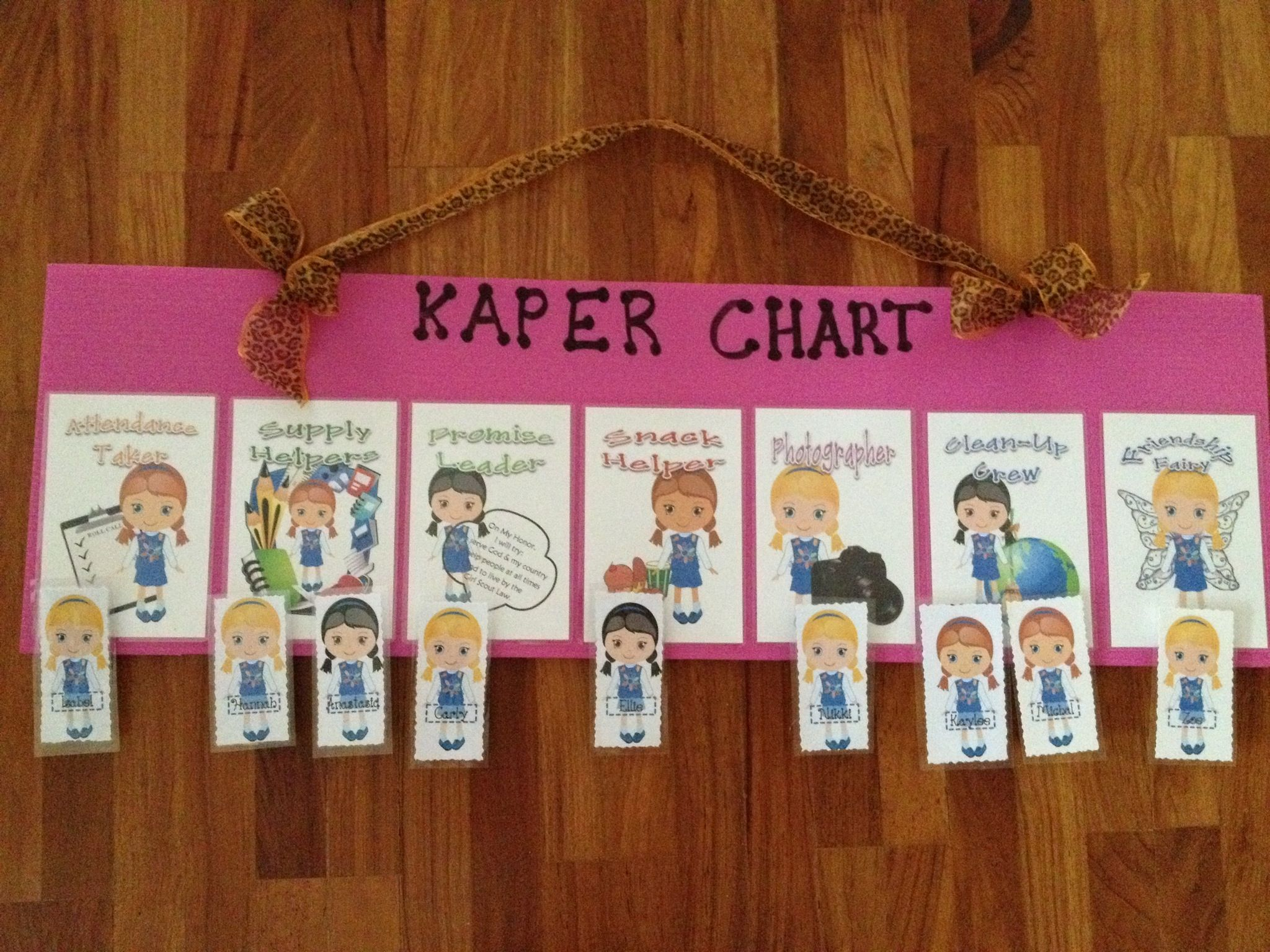 Daisy Kaper Chart Girl Scout Daisy Brownie Girl Scouts Girl Scouts