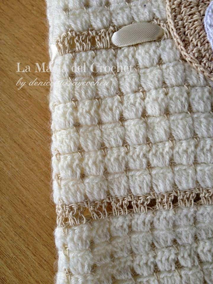La Magia del Crochet: COMPLETO PARA RECIÉN NACIDO A CROCHET   Blusas ...