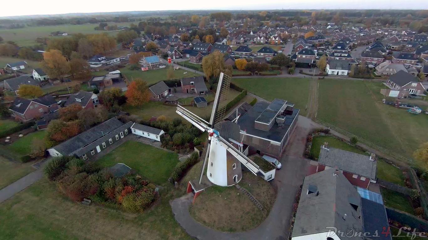 Korenmolen Loil www.drones4life.nl