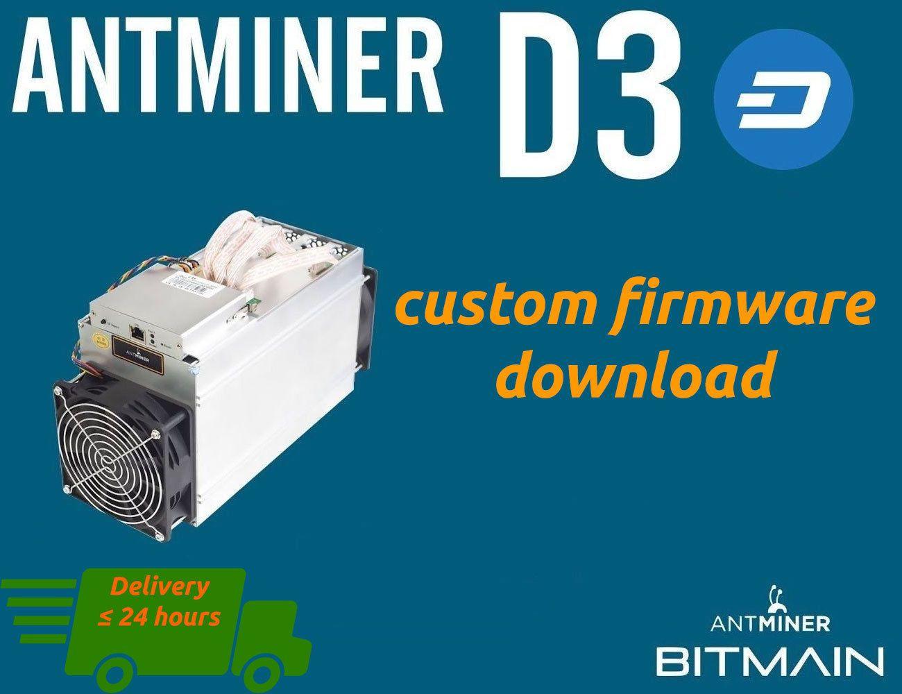 Bitmain Dash Miner Antminer S7 Custom Firmware
