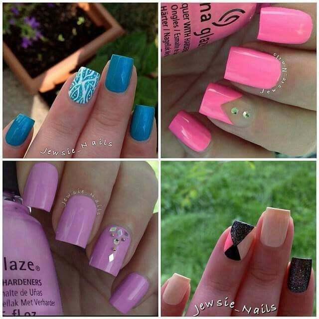Design and color | Nails | Pinterest | Uña decoradas