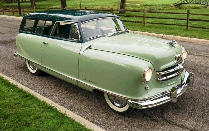 Pin On Hemmings Find Of The Day 1952 Nash Rambler Greenbrier