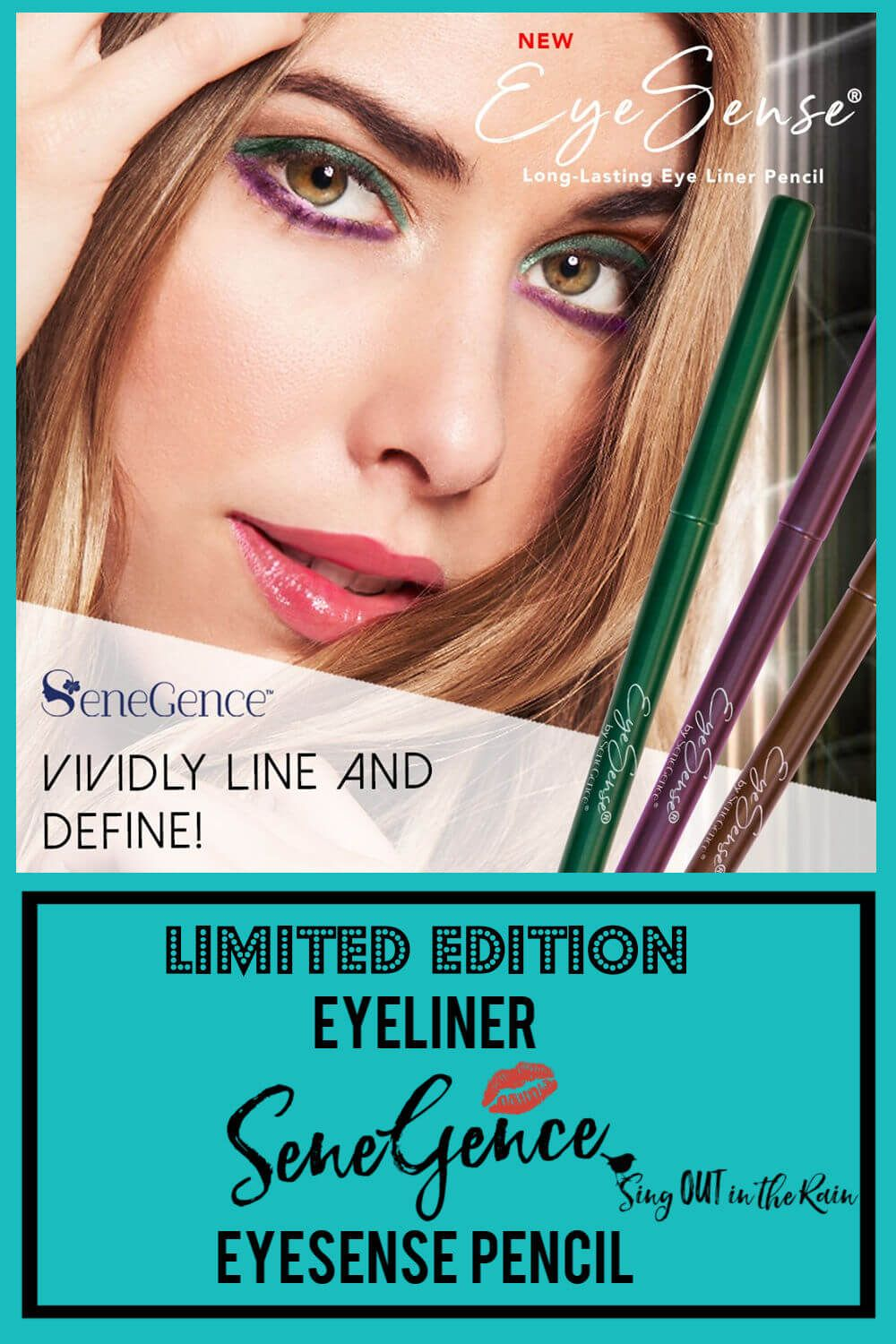 SeneGence Eyeliner Pencil Limited Edition Colors SeneGence has three Limited Edition Eyeliner Penci