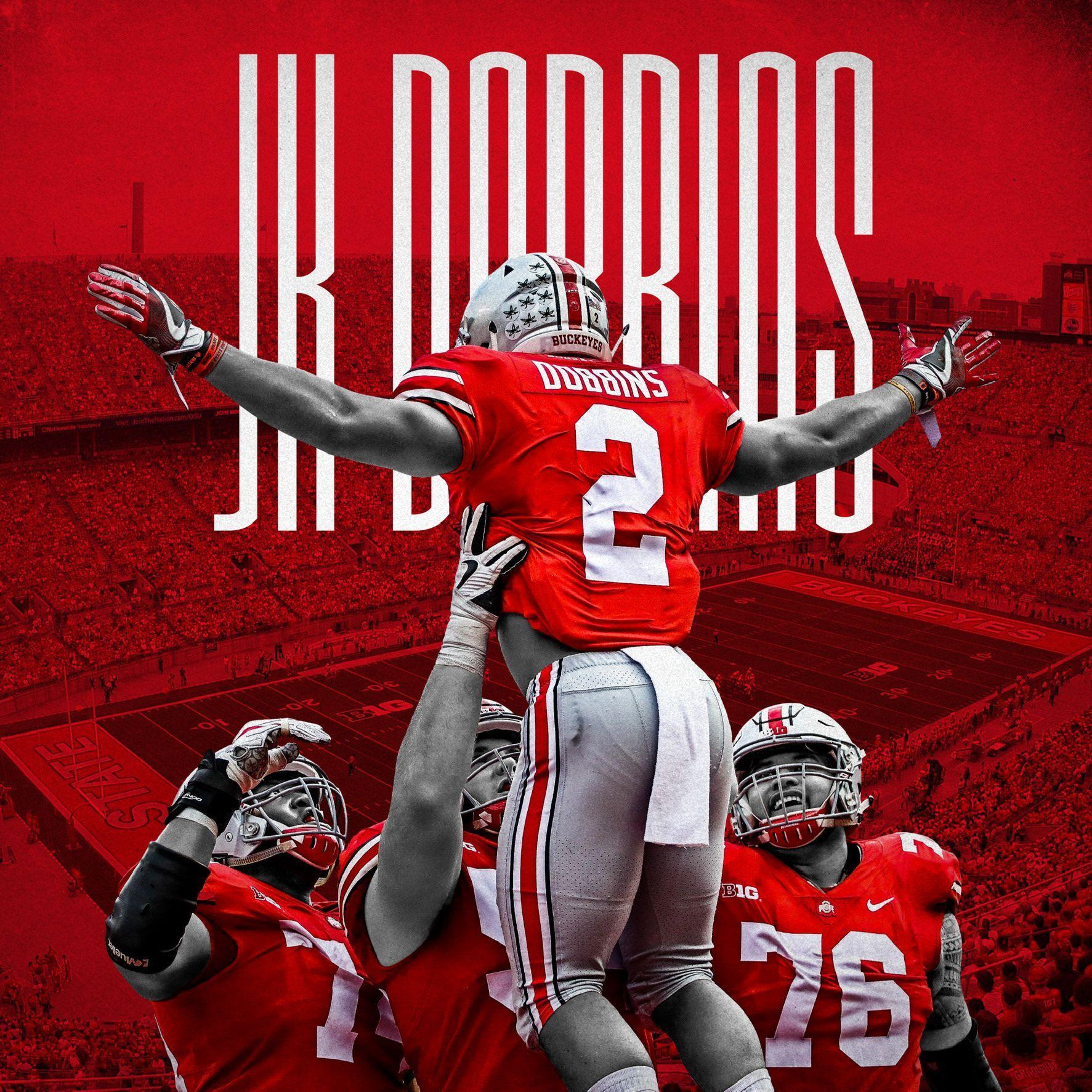 Daily Sports Designs 330 365 Jk Dobbins Ohiostatebuckeyes In 2020 Ohio State Buckeyes Football Ohio State Football Ohio State Football Players
