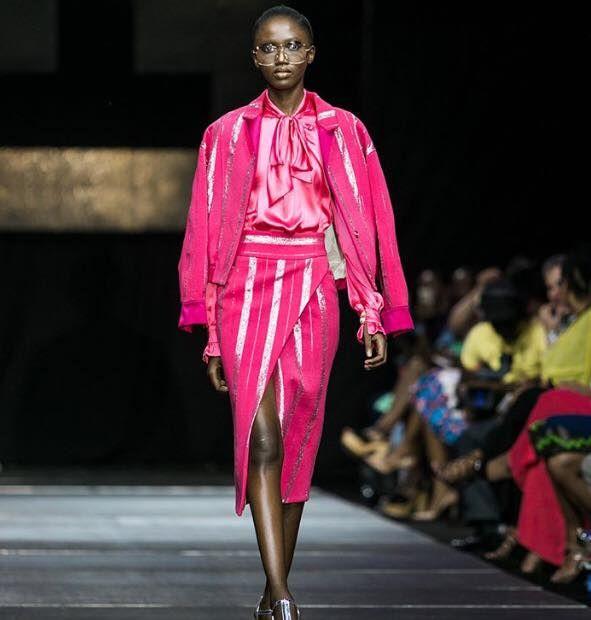 2017 Dakar Fashion Week Pop Corn Paillettes Fashion Africa Fashion African Fashion Designers