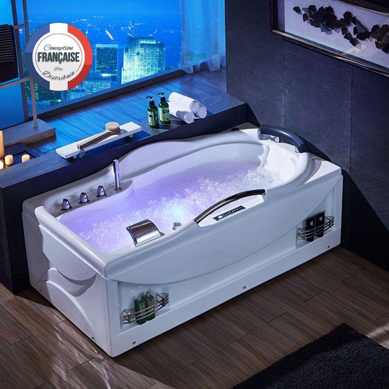 Dis026 900gt Meuble Salle De Bain Gris Baignoires Balneo Pinterest
