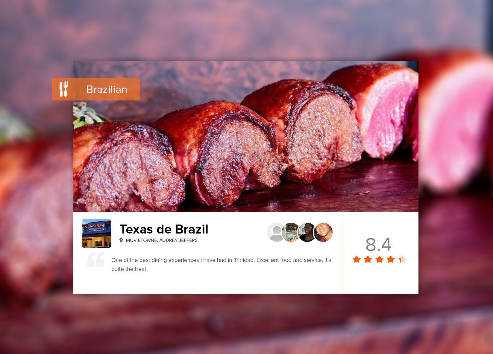 Brazilian churrascaria meets texan steakhouse meets fine