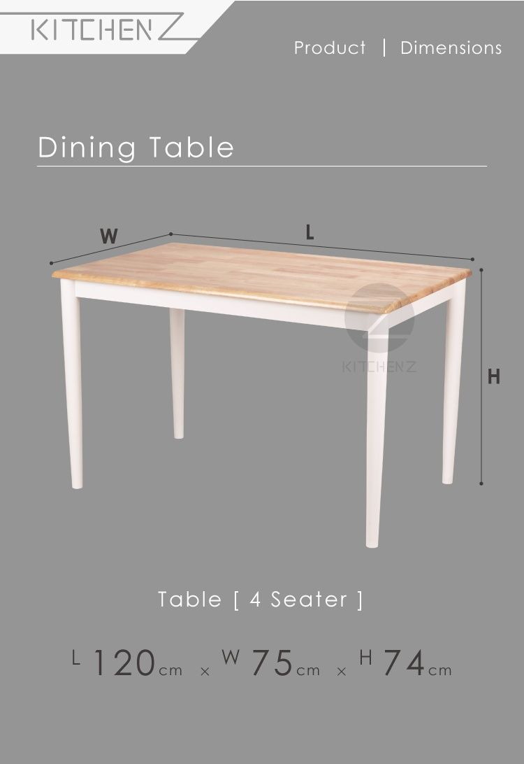Kitchen Z Solid Wood Dining Table 254rnd 120x75 N Wht 120 X 75 Cm Wood Dining Table Solid Wood Dining Table Buy Kitchen