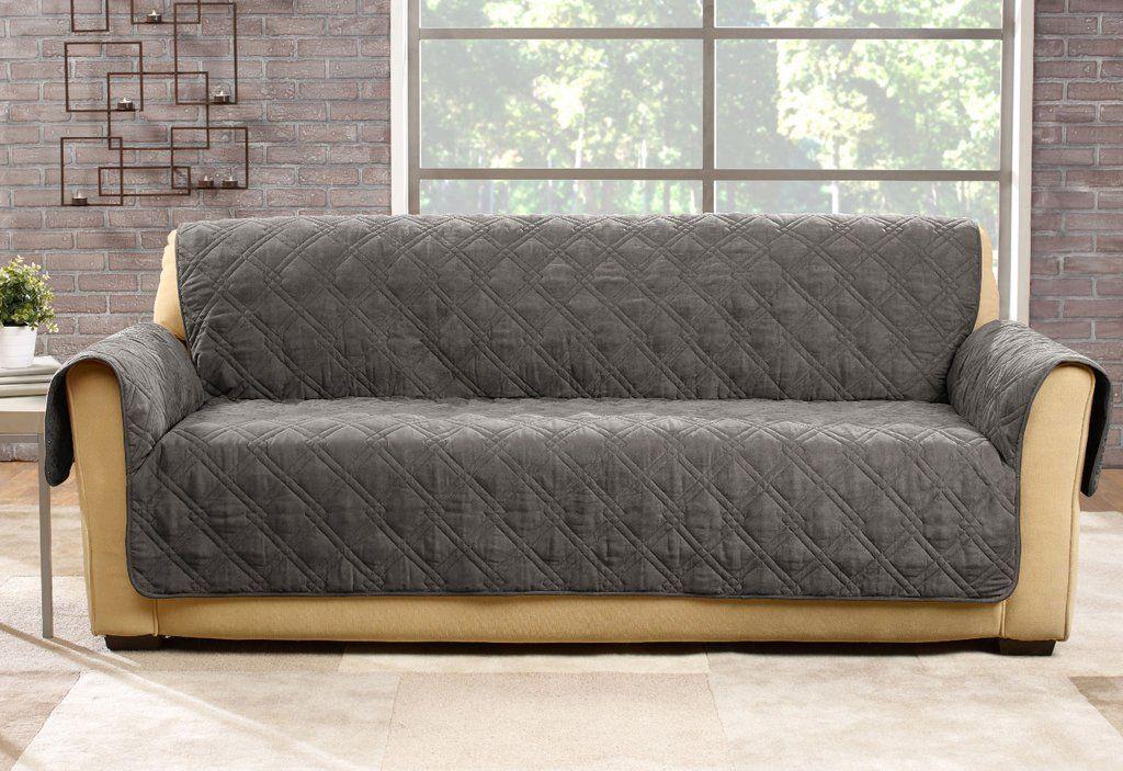 Phenomenal Microfiber Pet Sofa Quilted Furniture Cover Lulabelle Caraccident5 Cool Chair Designs And Ideas Caraccident5Info