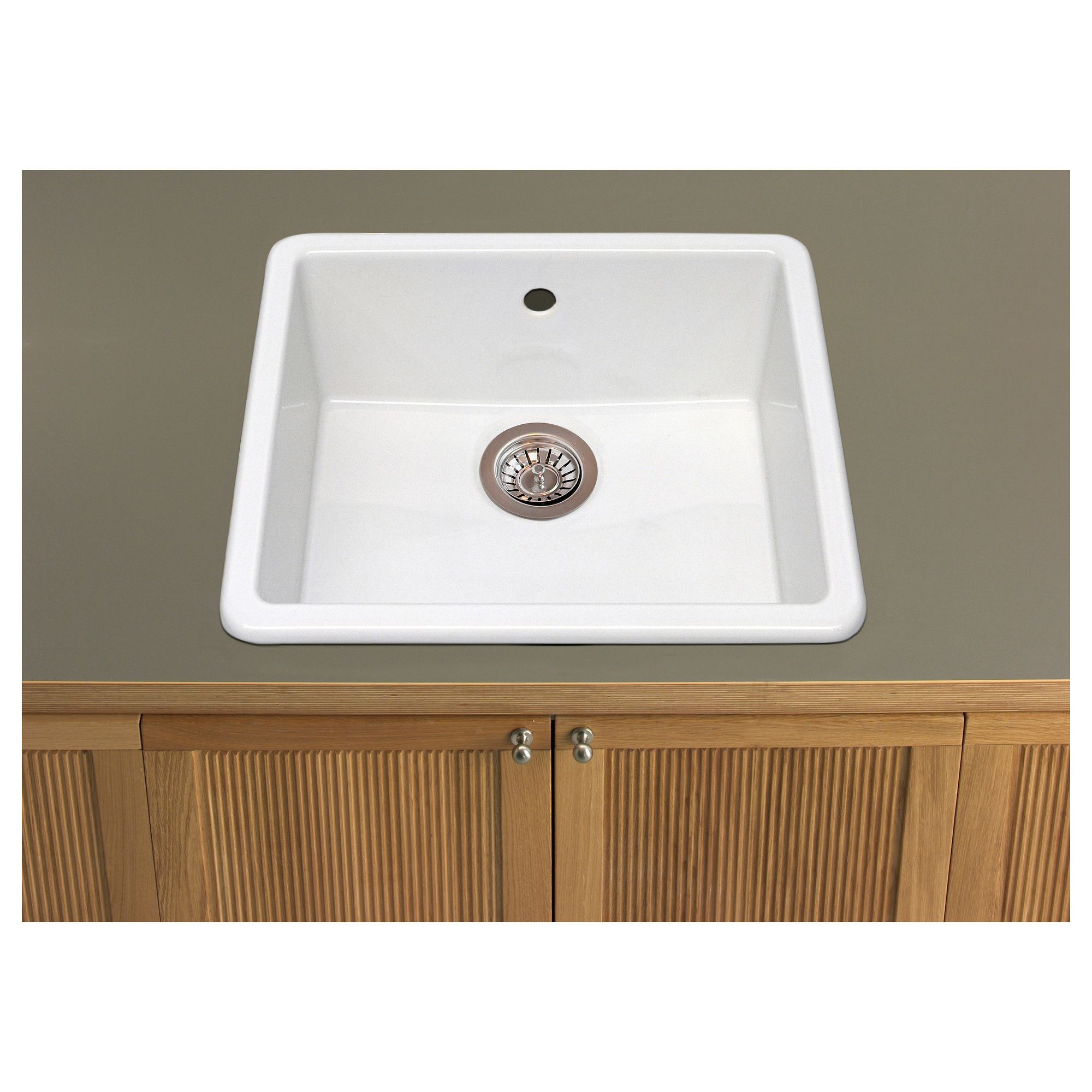 Dream Kitchen Sink: DOMSJÖ Single-bowl Inset Sink