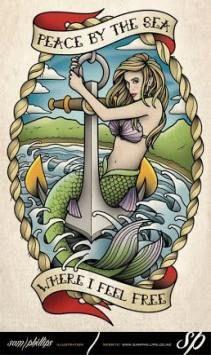 New tattoo mermaid traditional posts Ideas