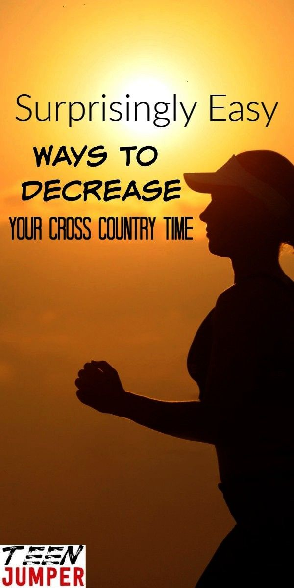 Ways to Decrease Your Cross Country Time  Middle School Cross Country 9-Week Coaching Plan  How to