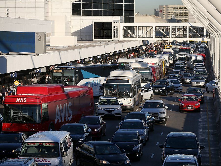 Here S How Much Sitting In Traffic Is Costing You Los Angeles Airport Los Angeles City