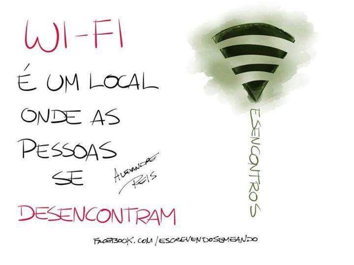 Wifi e a solidão acompanhada #cidadaniadigital