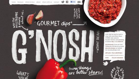 G'nosh #website. Lovely photography. www.gnosh.co.uk