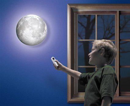 Uncle Milton Moon In My Room Amazon De Kuche Haushalt Mond Lampe