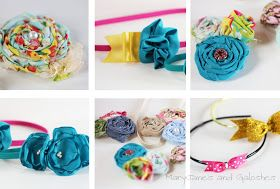 MaryJanes and Galoshes: DIY Hair Accessories