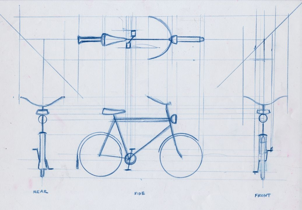 Elevation In Orthographic Drawing The Front Back And