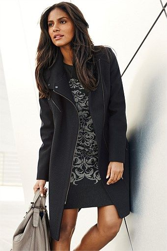Next Jackets & Coats for Women - Next Biker Coat - EziBuy ...