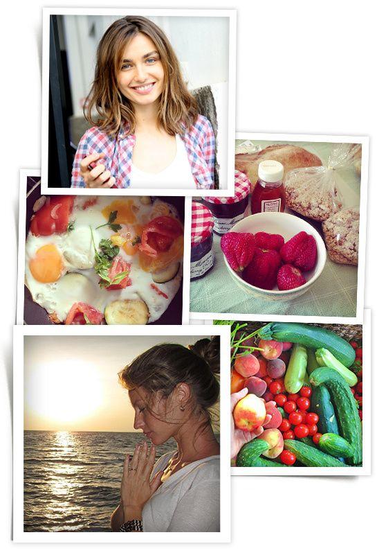 What models eat for breakfast: Gisèle Bündchen, Andreea Diaconu, Anna Selezneva, Doutzen Kroes , Jaquelyn Jablonski, Constance Jablonski, Li...