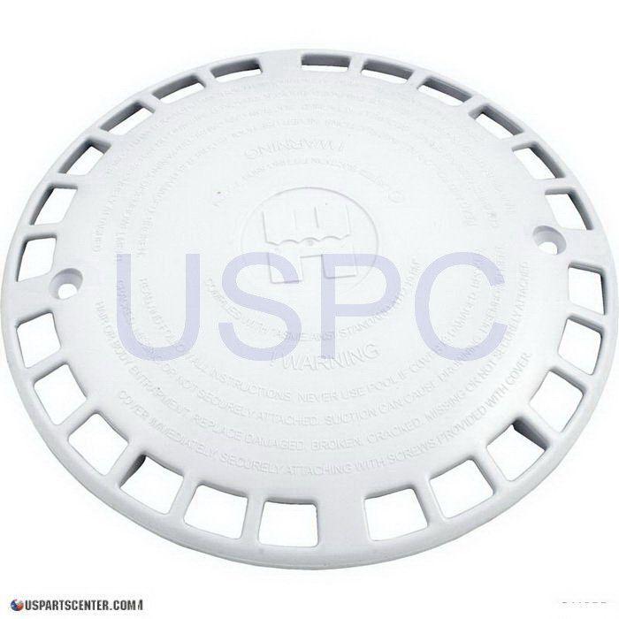 Anti-Vortex Plate, White, Machined, Approved Design
