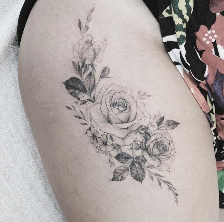 Pin Od Nata Na Tatuaż Blumen Tattoos Blumen I Blüten