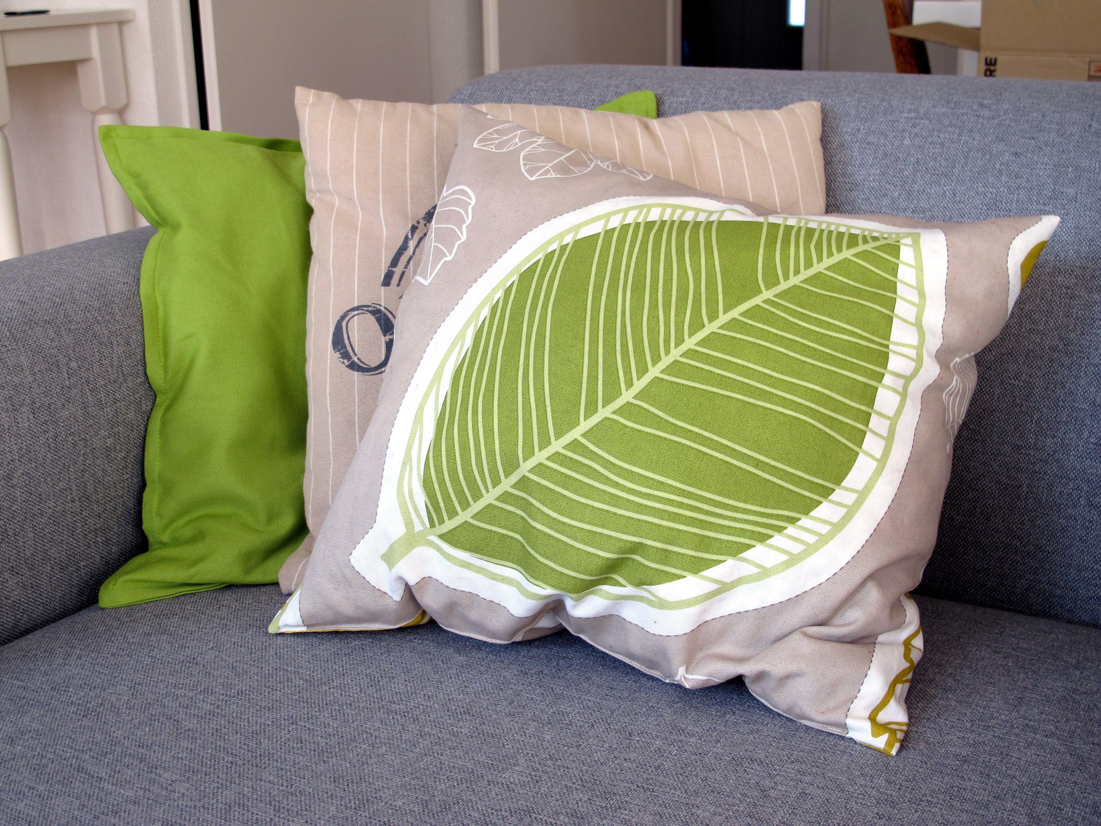 The Pillow Kussen : Stoelkussens inspirerende hs oxford sierkussen taupe cm