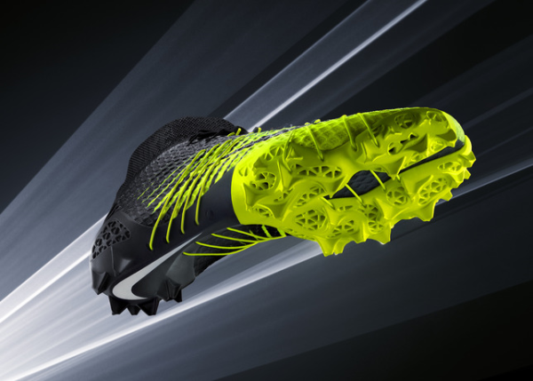 Nike debuts third football cleat built using 3d printing for Trainee produktdesign