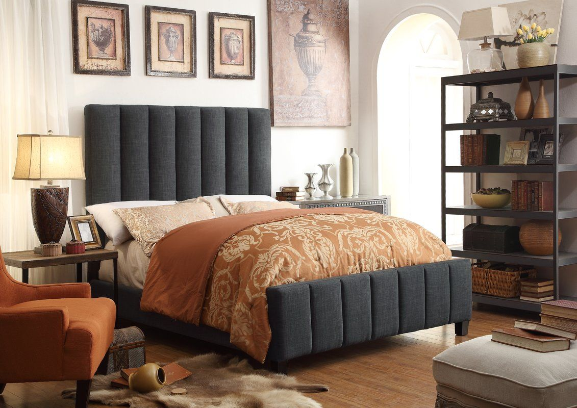 Elizabeth Upholstered Storage Platform Bed Furniture