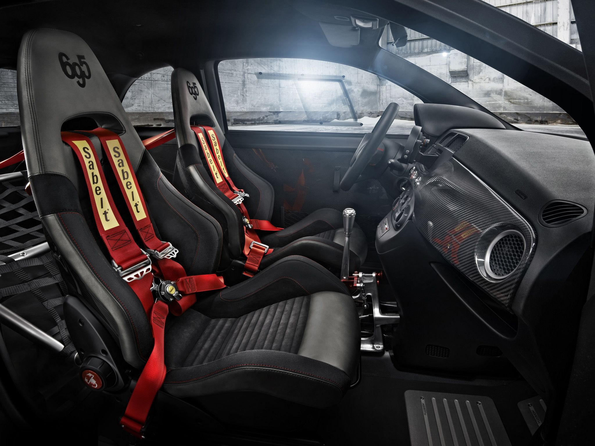 Abarth 695 Biposto Interior Fiat Abarth Fiat Fiat 500