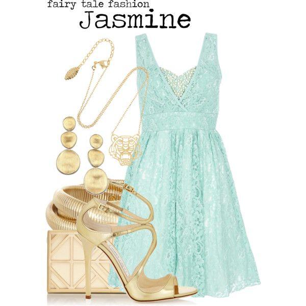 """Jasmine"" by charlizard on Polyvore"
