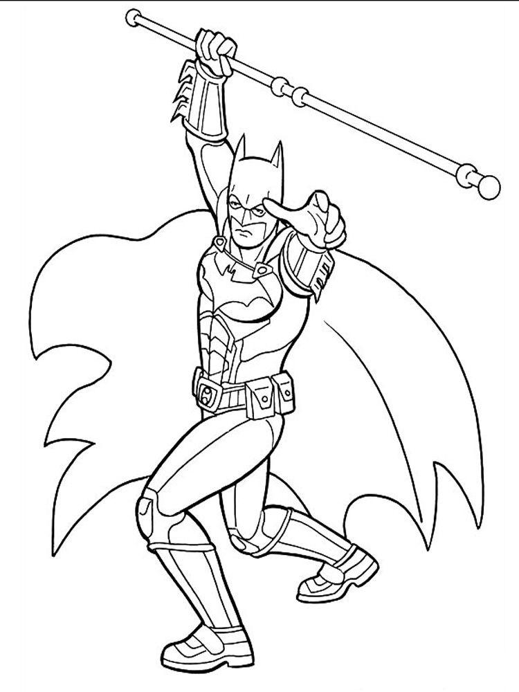 Kleurplaten Batman En Robin.Batman And Robin Coloring Pages Free Printable Batman And Others