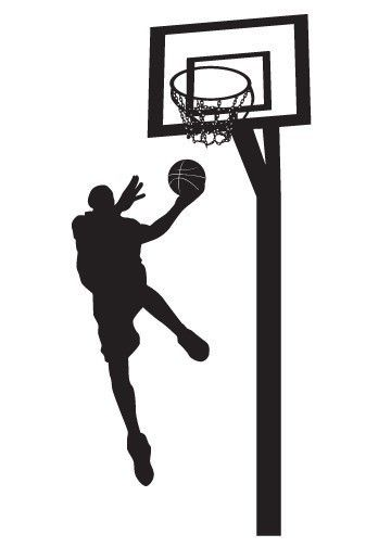 Vinyl Wall Sticker Decal Art Basketball Player Baloncesto