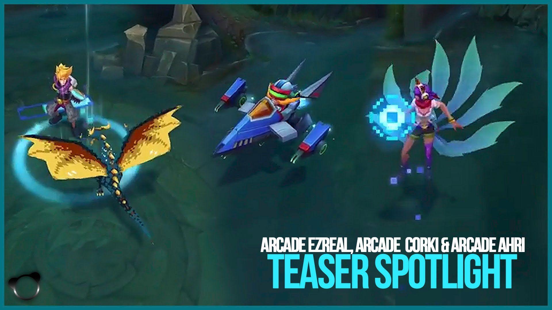 League Of Legends Arcade Ahri Wallpaper Gamers Wallpaper 1080p